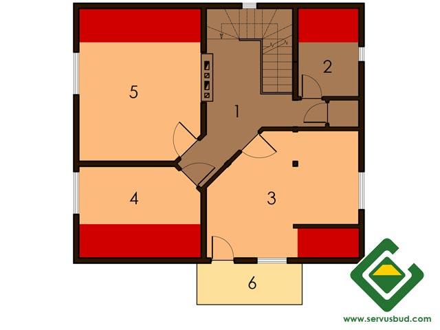 изображение второй_этаж Проект «Мелена»