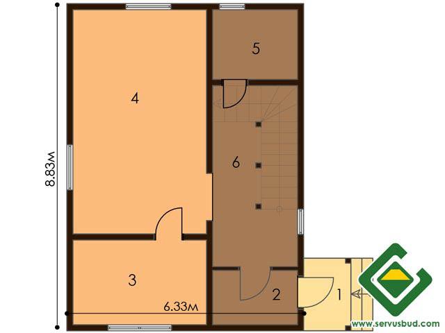 изображение первый_этаж Проект «Грибок»