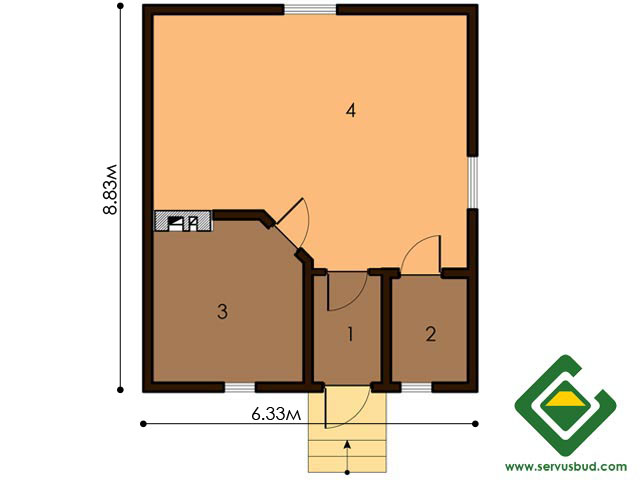 изображение первый_этаж  Project «Banya 2»