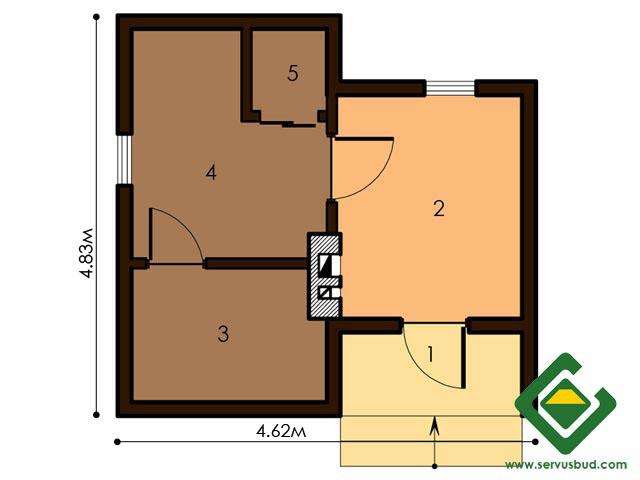 изображение первый_этаж  Project «Banya 1»