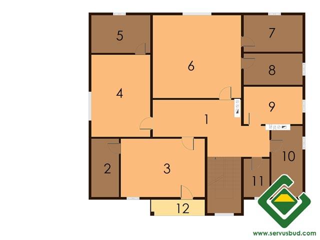 изображение второй_этаж Проект «Фэн-шуй»