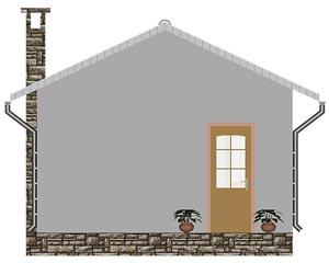 изображение фасады Проект «Баня 1»