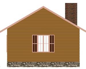 изображение фасады Проект «Баня 2»