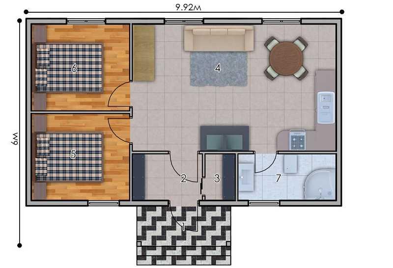 изображение первый_этаж Проект «Колібрі»