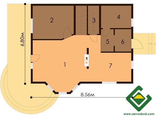 изображение первый_этаж Проект «Лан»