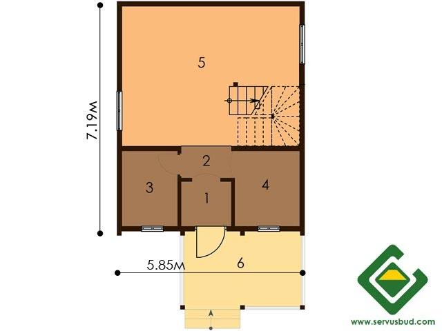 изображение первый_этаж Проект «Гектор Мини»