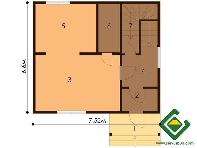 изображение первый_этаж  Project «Gajka»