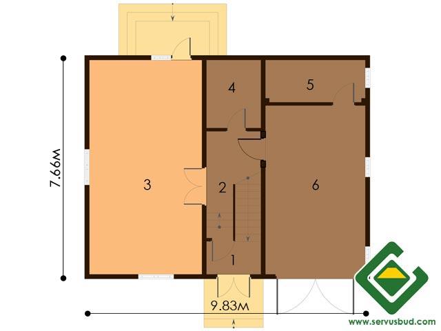 изображение первый_этаж Проект «Тюльпан»