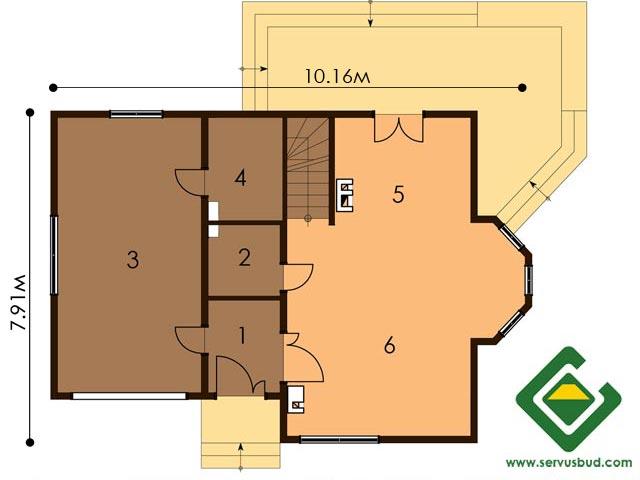изображение первый_этаж Проект «Валери»