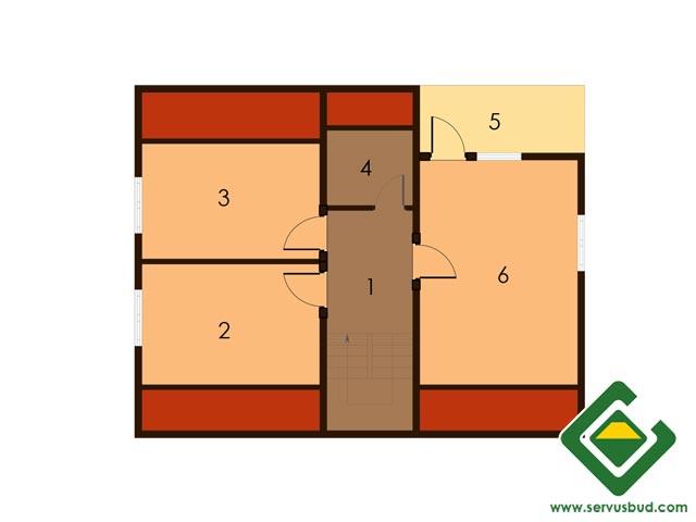 изображение второй_этаж Проект «Тюльпан»