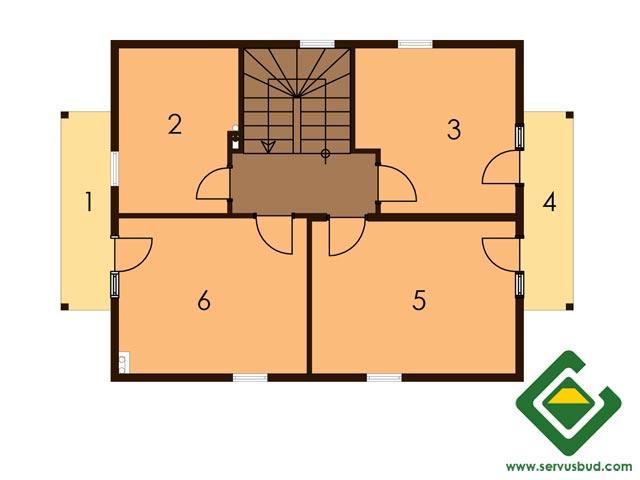 изображение второй_этаж Проект «Виолла»