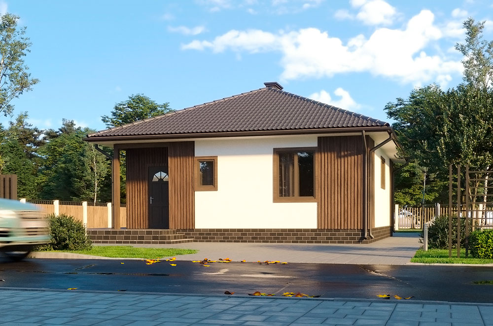 SIP дом проект Бэрри