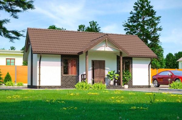 проект дачного дома Колибри