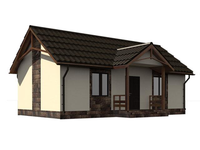 изображение фасады Проект «Колибри»