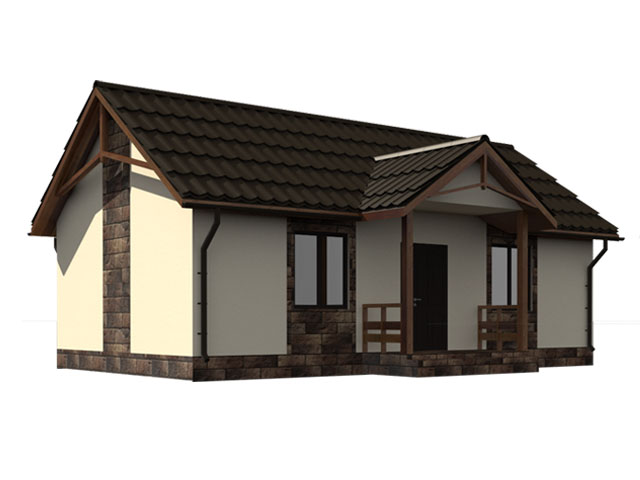 изображение фасады Проект «Колібрі»