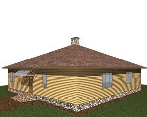 изображение фасады Проект «Седан»