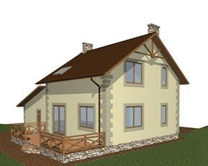 изображение фасады Проект «Диана»