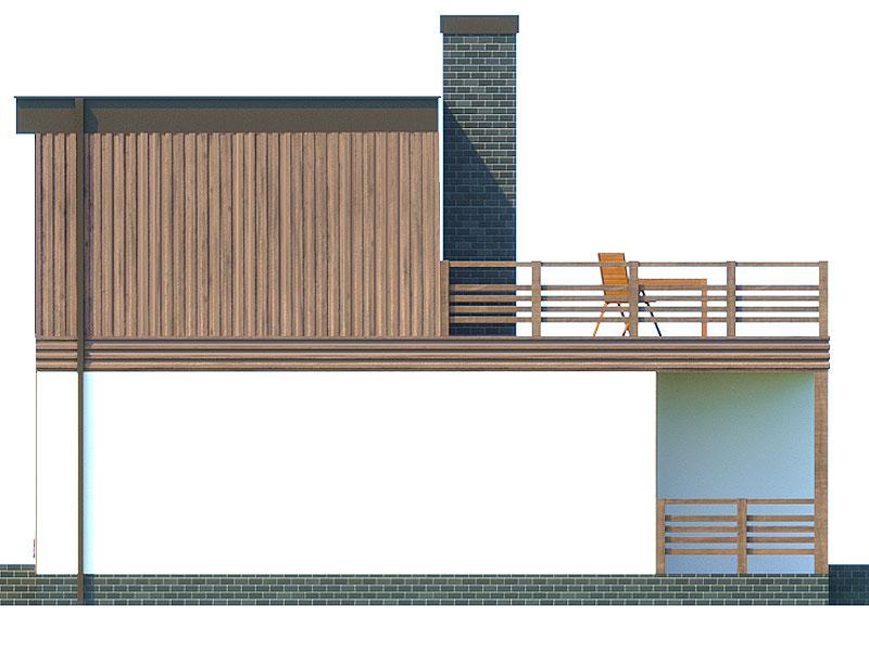 изображение фасады Проект «Хай-тек»