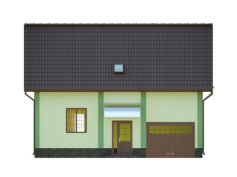 изображение фасады Проект «Тюльпан»