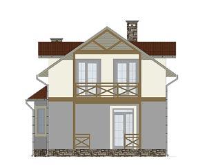 изображение фасады Проект «Виолла»