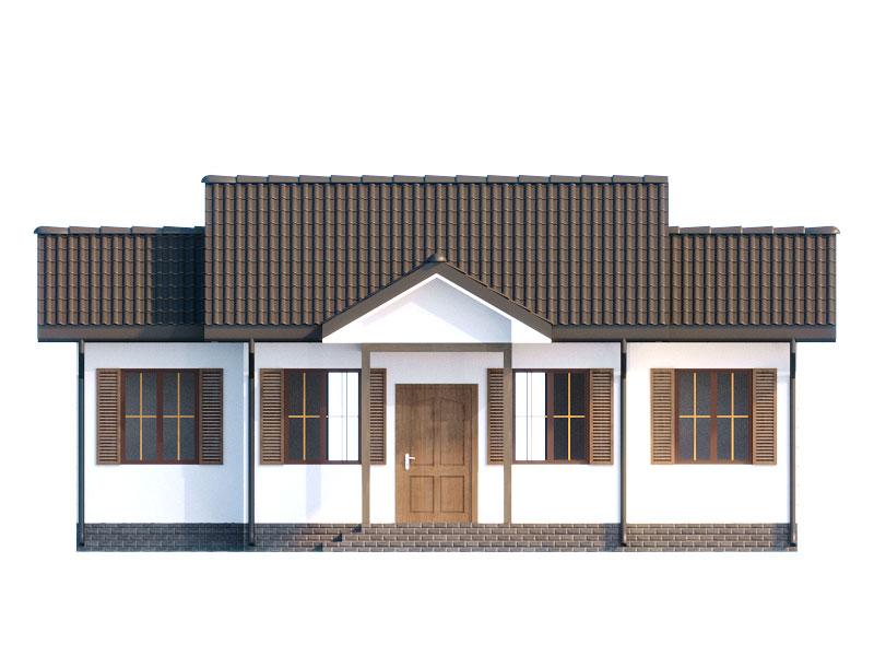 изображение фасады Проект «Сніжинка»