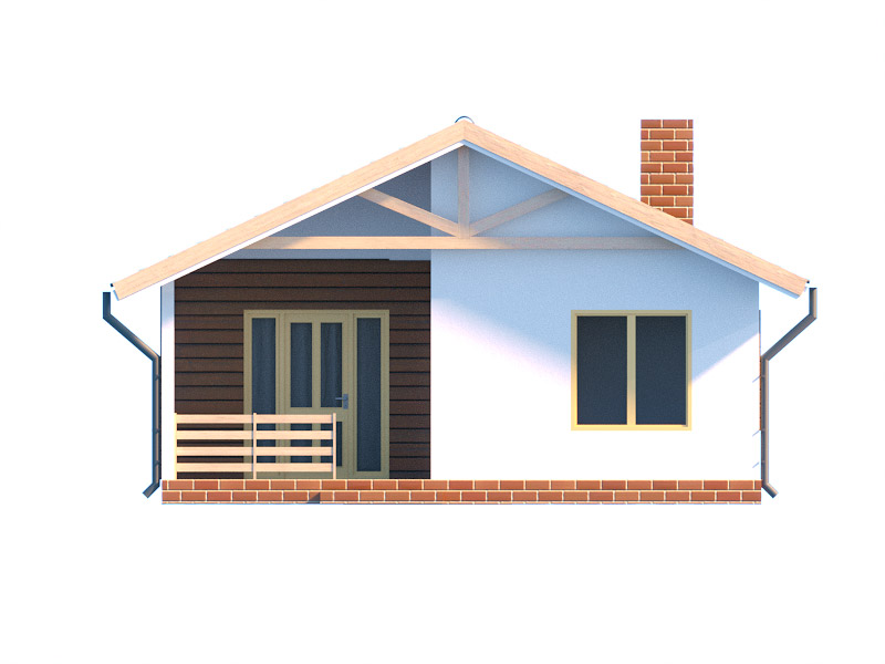 изображение фасады Проект «Дачный дом 1»