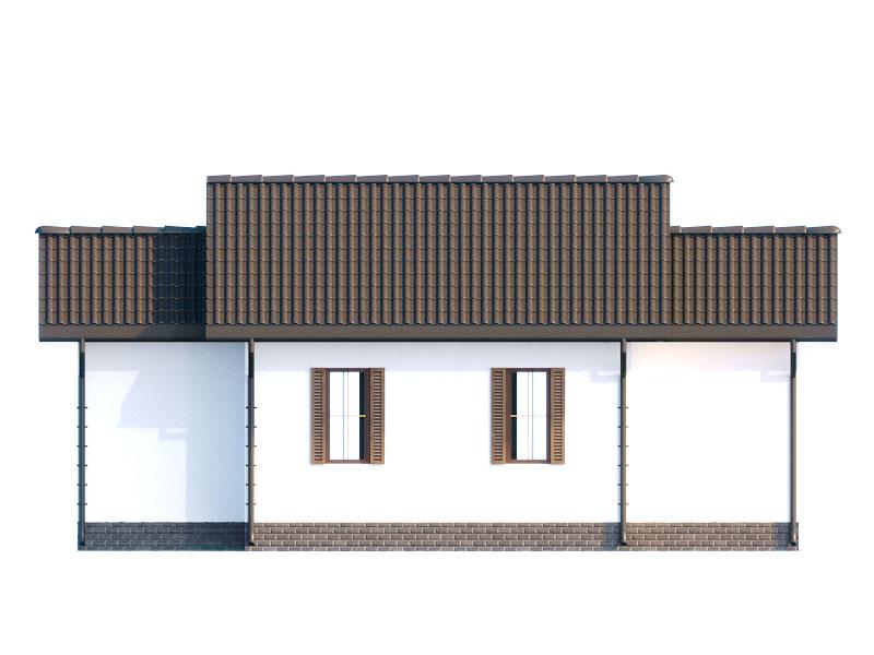изображение фасады (Русский) Проект «Снежинка»