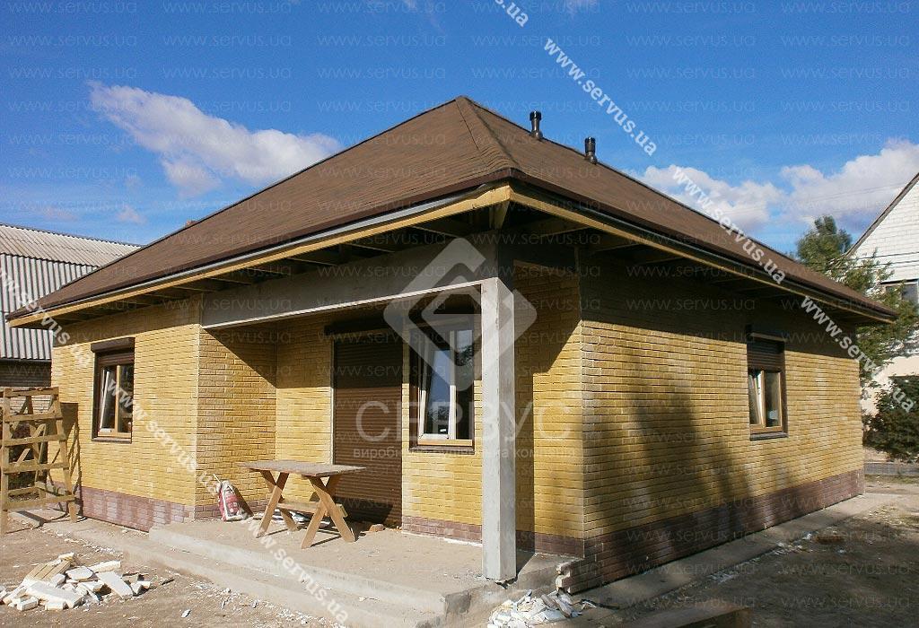 Теплый дом Сервус, проект Грин