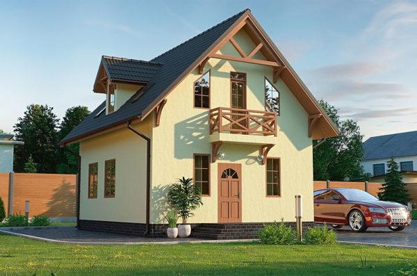 проект пассивного дома Гектор