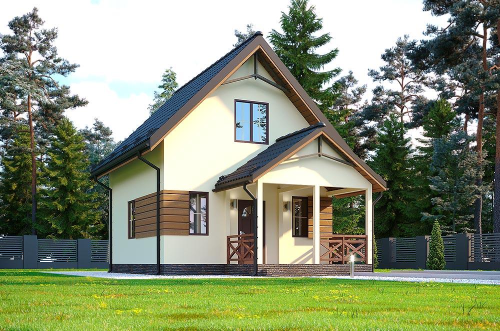 проект будинку по технології СІП - Гектор Міні