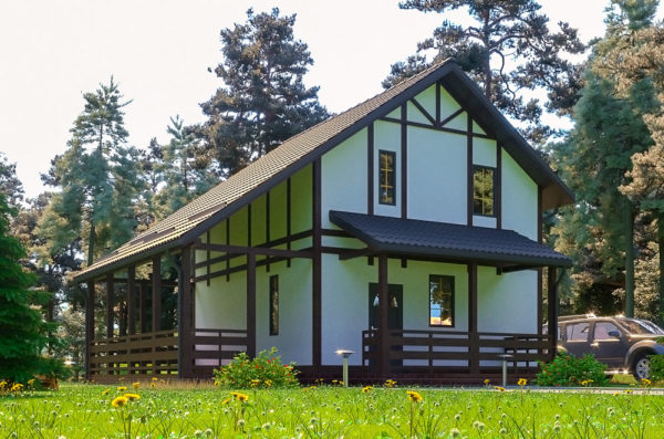 проект канадского дома Сервус - Ян