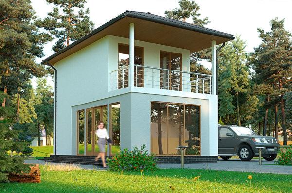 проект пассивного дома Лотос