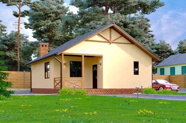 дачный дом проект Мобиль