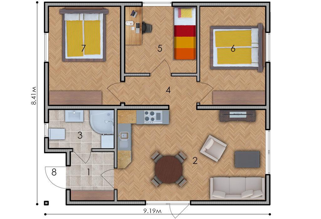 изображение первый_этаж Проект «Бэрри»