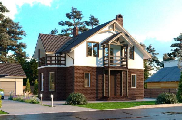 Канадский дом проект Тара