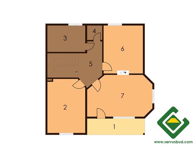 изображение второй_этаж Проект «Лесничий 2»