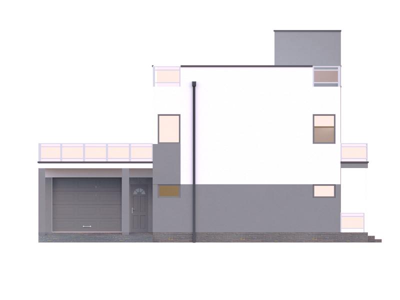 изображение фасады Проект «Куб»