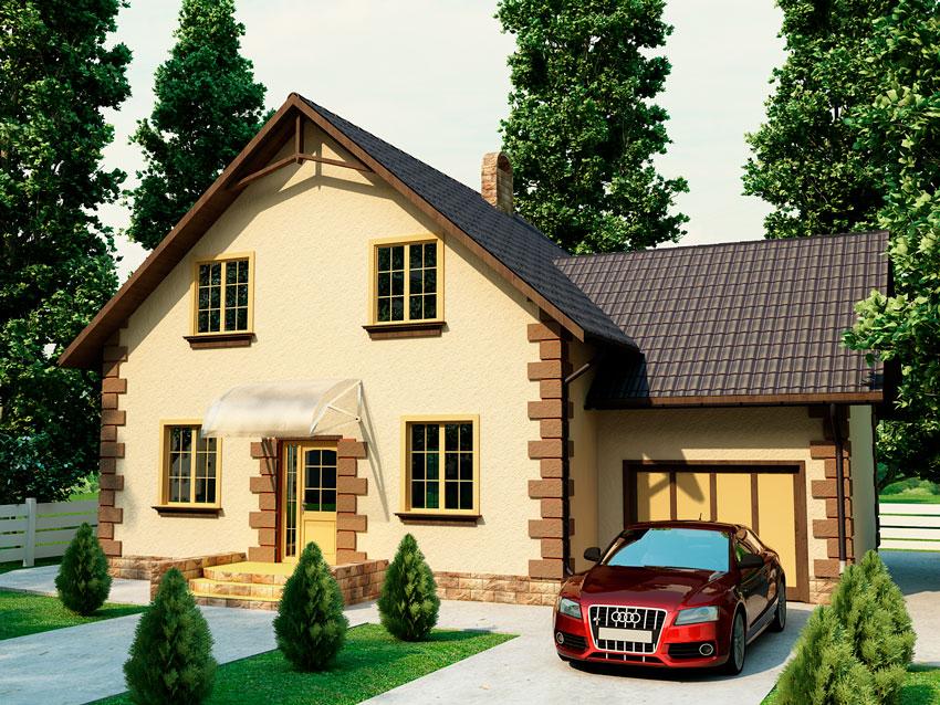 Теплый деревянный дом - Деметра
