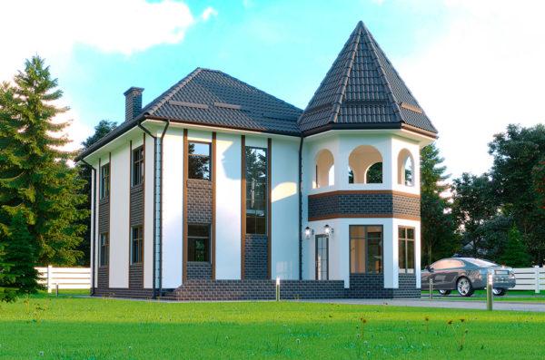 Проект каркасно панельного будинку Ізінгард