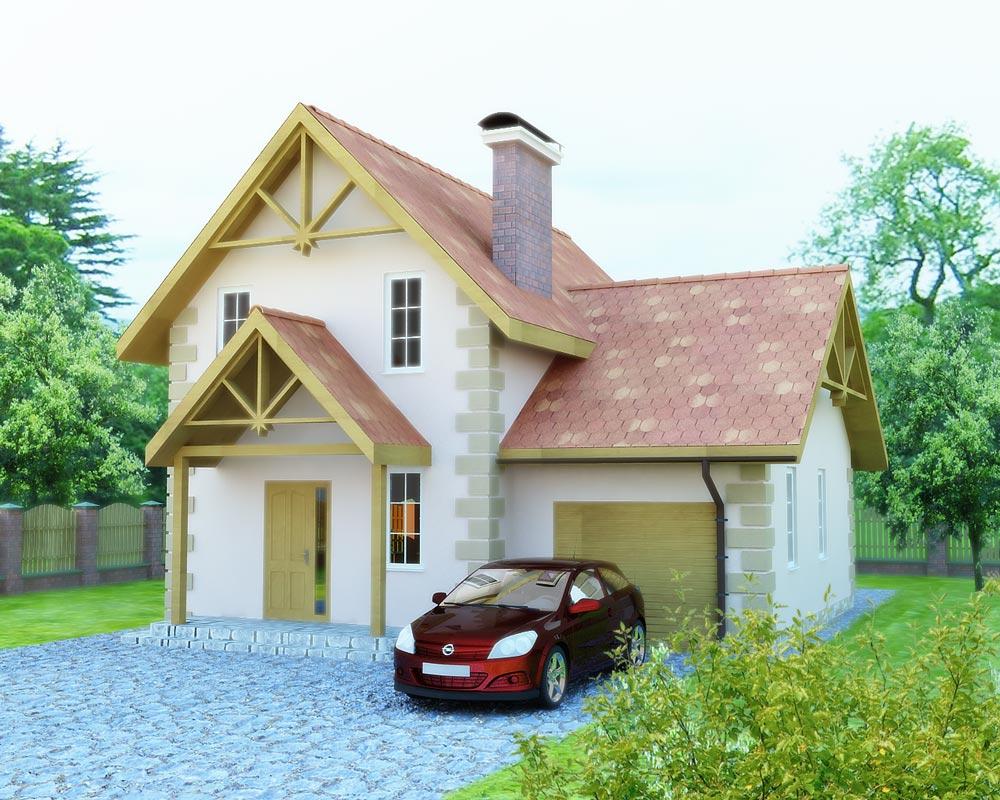 Каркасно панельний дом Кармен