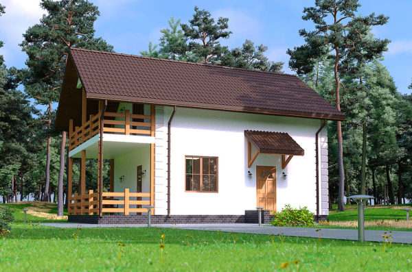 проект СИП дома Сервус