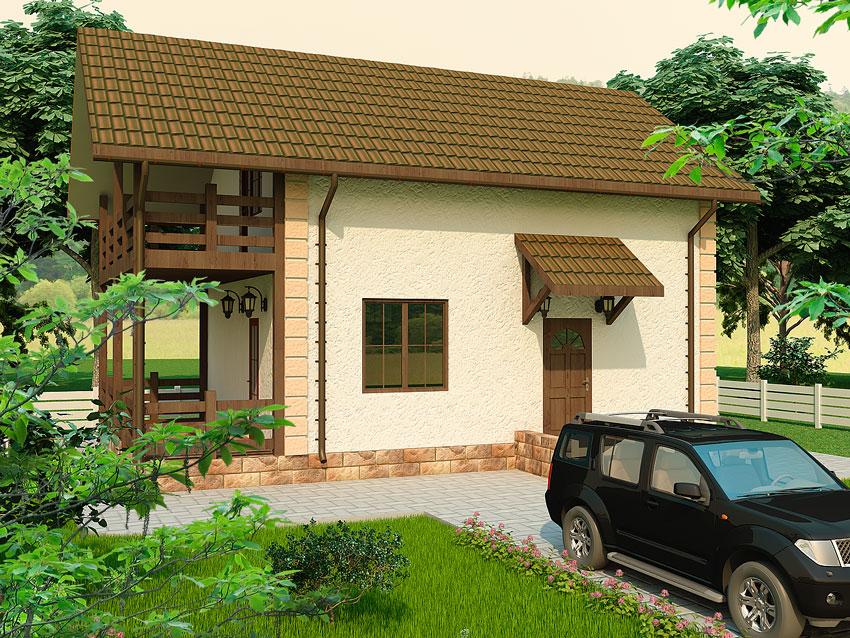 SIP технология строительства дом - Залокоть