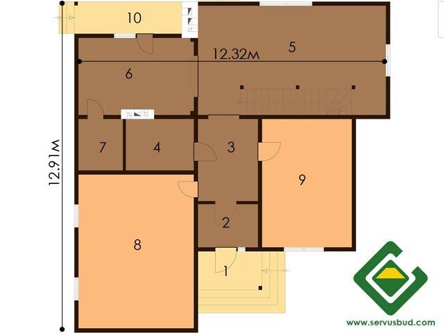 изображение первый_этаж Проект «Брукс»