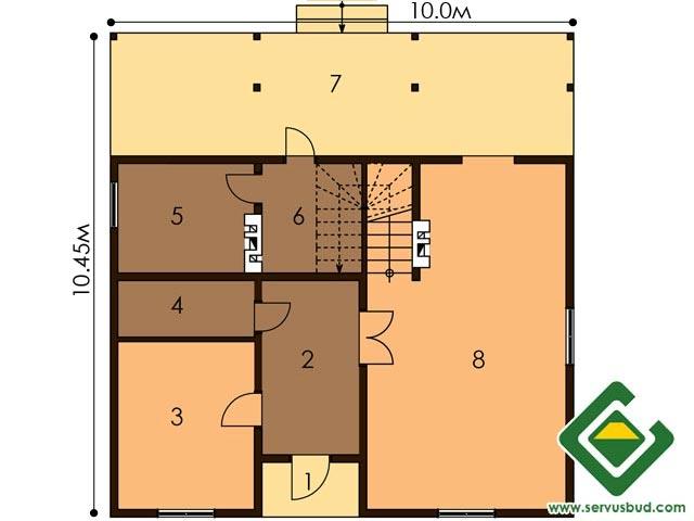 изображение первый_этаж Проект «Андреа»