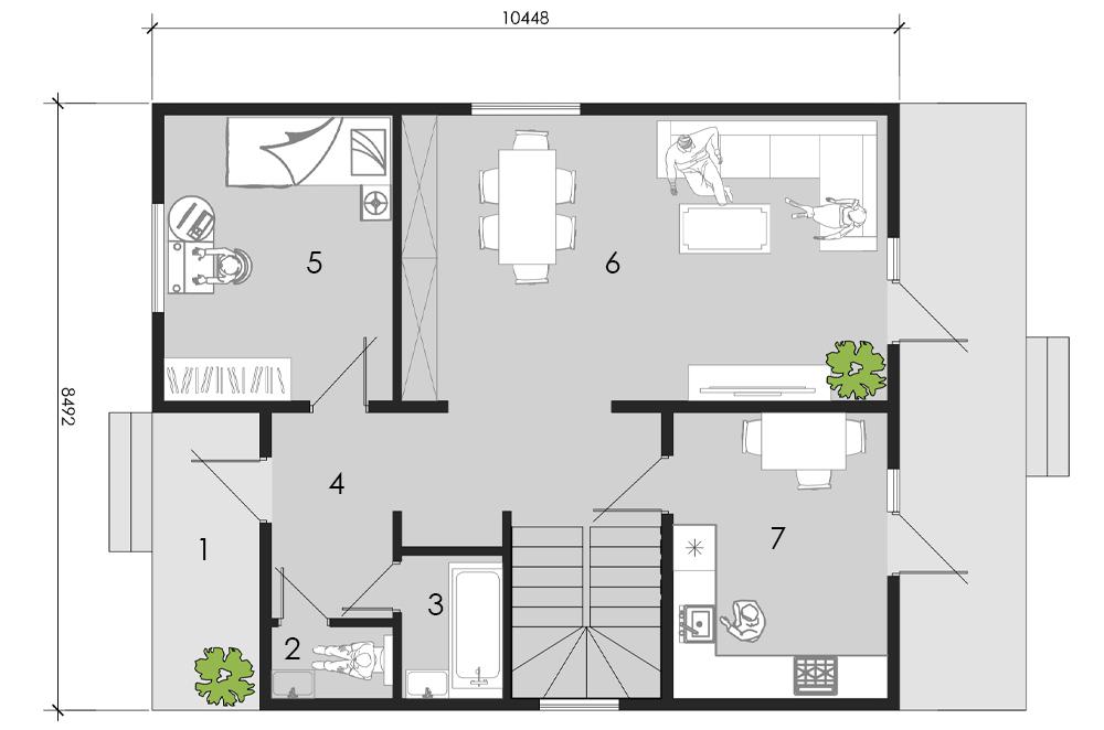 изображение первый_этаж Проект «Бордо»