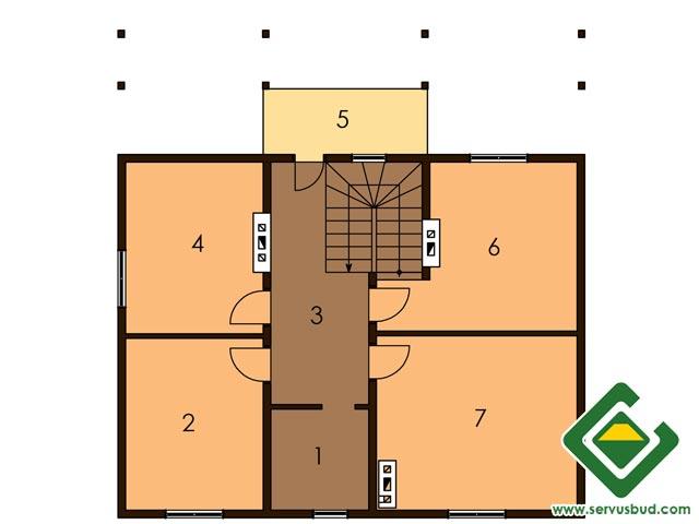 изображение второй_этаж Проект «Андреа»