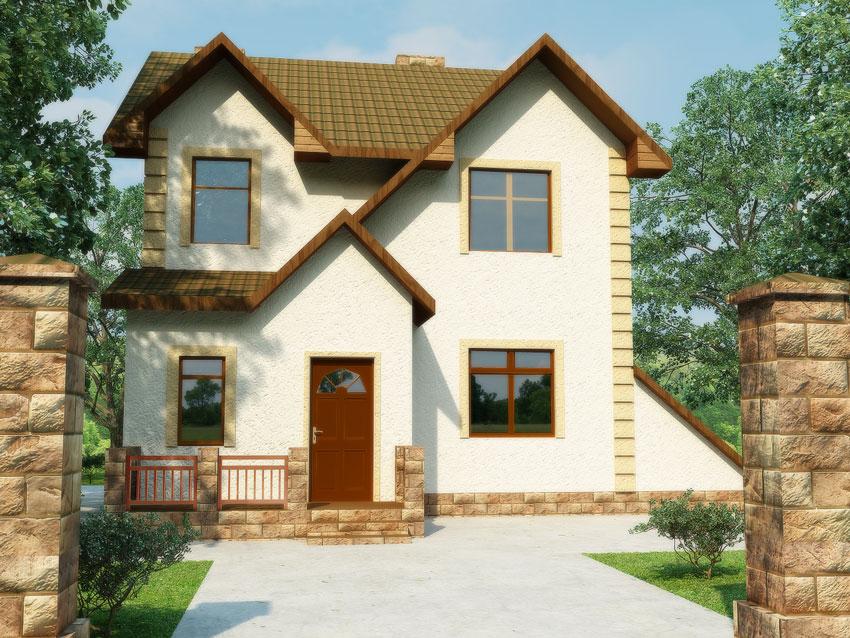Деревянный дом Бим