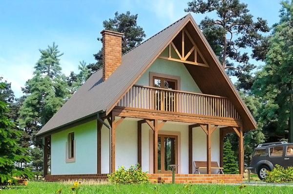 каркасный дом проект Галич