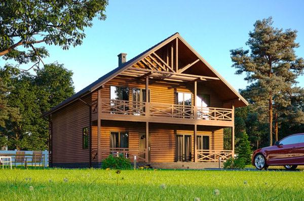 проект канадского дома Сервус - Мольфар
