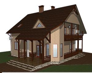 изображение фасады Проект «Чумак»